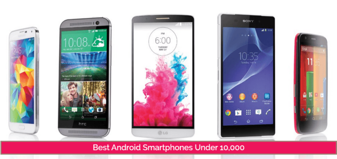 Best Android SmartPhones Under 10000