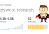 Keywords Research Tool
