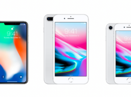 Apple iPhone 8 or iPhone X