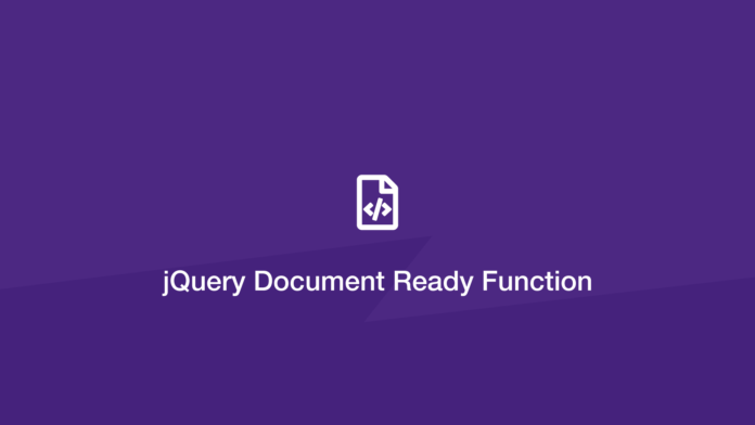jQuery Document Ready Functions